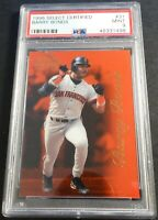 1996 BARRY BONDS SELECT CERTIFIED RARE CERTIFIED RED #31 PSA 9 GIANTS POP 1