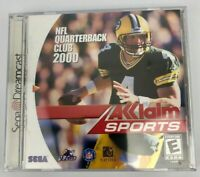 NFL Quarterback Club 2000 (Sega Dreamcast, 1999) New & Sealed