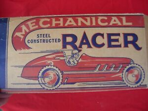 Louis Marx MAR Toys Box Vintage old as is Race Car Racing Racer