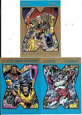 1992 X-MEN; STRYFE'S STRIKE FILE - 3 DIFFERENT