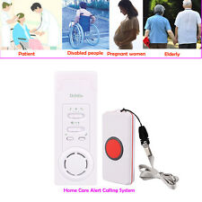 Elderly Care Alert Emergency Calling System Wireless Receiver+Call Bell Button