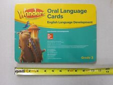 Womders For English Learners Grade 3 Oral Language Cards ELD New 0021303002