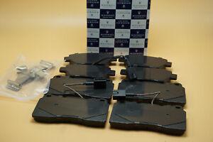 MASERATI GHIBLI QUATTROPORTE BASE MODEL FRONT & REAR OE BRAKE PADS SET 2014 & UP