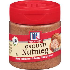 McCormick Classic Ground Nutmeg, 1.1 oz (Pack of 3)