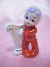 7ec9dd89e27  SUPER RARE VTG  Japan Christmas Red PJ Baby Kid Girl Child Angel Harp