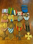 WW1  & WWII French Service And Campagne Medals (14 medals)