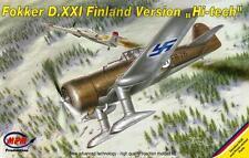 Fokker d xxi (finnish af/ilmavoimat e marquage) 1/72 mpm hi-tech edition
