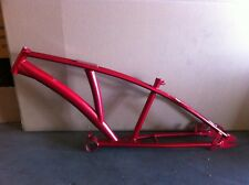 "Red CHOPPER Bike Frame 1"" Beach Cruiser Trike Bicycle New"