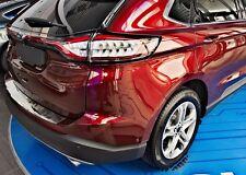 EDELSTAHL LADEKANTENSCHUTZ mit Abkantung für Ford Edge ab 2016