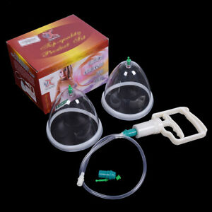 1Set Buttocks Breast Enhancement Pump For Body Cupping Lifting Suction Gift
