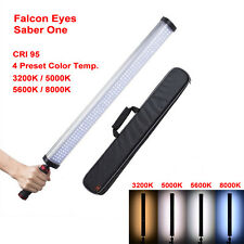 Falcon Eyes Handheld LED Video Light 22W Dimmable CRI95 4 Color Temp. Preset