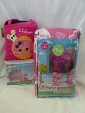 5 pc Lalaloopsy Sew Magical! Sew Cute! Twin Comforter, Sheets, & Throw Set NIP