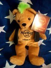 HRC Hard Rock Cafe Venice Venedig Punk Bear Mohawk 2010 Green Hair Herrington