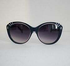 New ALEXANDER McQUEEN Blue Transparent BUTTERFLY Sunglasses AMQ 4230S