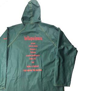 RARE 1993 Lollapalooza Tour Promo Rain Coat Alice In Chains, RATM, Tool, Primus