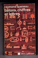 Bâtons, chiffres et lettres - Raymond QUENEAU