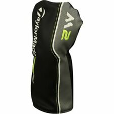 TaylorMade Golf M2 2017 Driver Black/Grey/Lime Green Headcover