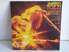 UMBERTO TOZZI Greatest hits in concert 84763