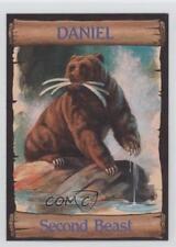 1989 re-Ed Bible Cards Daniel #12 Second Beast Non-Sports Card 0q3