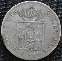 ITALIE 120 GRANA 1856 FERDINAND II