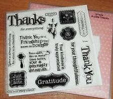 CTMH D1444 A LITTLE THANKS ~ Once again like so many times before..., GRATITUDE