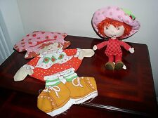 Strawberry Shortcake Muñeco de peluche y que empareja Cut-out