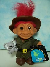 "Around The World Australia - 5"" Russ Troll Doll - New In Original Wrapper"