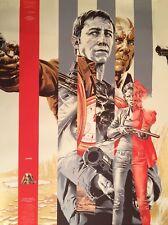 Martin Ansin LOOPER Gold Edition Mondo Movie Print Poster Art Mint