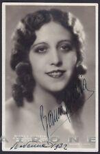 BIANCA GALLIZIA 01 BALLERINA SCALA Cartolina AUTOGRAFO originale RAVENNA 1932