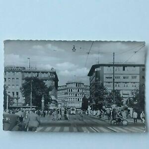 Postcard Düsseldorf am Rhein Am Corneliusplatz Germany Postcard