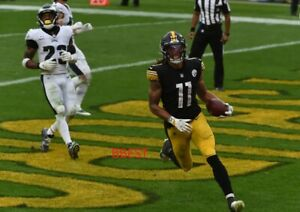 CHASE CLAYPOOL PITTSBURGH STEELERS FIRST NFL RUSHING TD 10/11/20 COLOR 8X10