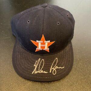 Nolan Ryan Signed Houston Astros Game Model Hat With JSA COA