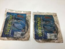 AFW Tooth Proof Stainless Steel Wire Fishing Leader 1/4lb Coil #10 124LB Wahoo
