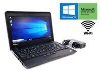 Cheap Fast Windows 10 LAPTOP Netbook Celeron 120GB SSD 4GB RAM WIFI WARRANTY