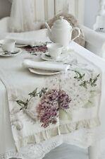 Van Deurs Tischdecke Rose 140x140 Table Cloth Weiß Shabby Vintage Landhaus