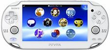 NEW SONY PS Vita PCH-1000 ZA02 Crystal White Console Wi-Fi model JAPAN OFFICIAL