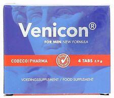 Venicon Libido & Erectile Supplement For Men: 4 Capsules | 100% Natural Formula