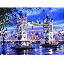 UK 5D Diamond Painting Beautiful Scenery London Tower Bridge Embroidery DIY Art