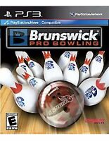 Brunswick Pro Bowling PlayStation 3 PS3 Kids Game For Move