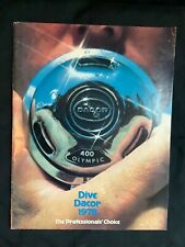 Vintage Dacor Diving 1978 catalog. Excellent condition.