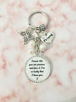 Friend like You Gift Present Keyring Bag Charm Beads Special Keepsake