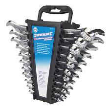 "Silverline Combination Spanner Set 22pce 6 - 22mm & 1/4 - 7/8"" 633470"