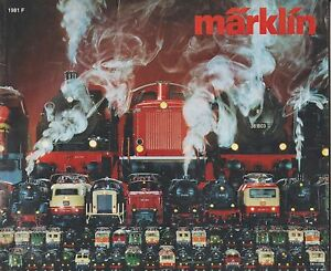 catalogue jouets marklin 1981 (traduction française) nb ill 160 pages