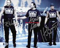 Hulk Hogan Scott Hall Kevin Nas Signed Autographed 8X10 Photograph Photo Reprint