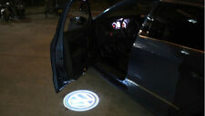Car Laser Wireless sensor Door Logo Shadow Light Lamp for Volkswagen blue
