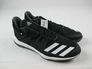 adidas Speed Turf Cleats Men's Black/White New Multiple Sizes