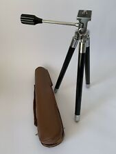 Vintage Camera Telescopic Tripod & Original Case