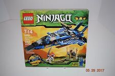 Lego NINJAGO 9442 -- Jay's Storm Fighter - 7+, 242 pcs-Sealed -- Retired --- NEW