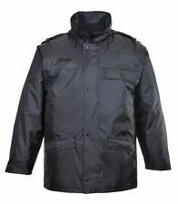 Nylon Zip Collared Long Coats & Jackets for Men