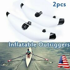 2x Lightweight Inflatable Outrigger Kayak Buoy Canoe Fishing Boat Stabilizer Pvc
